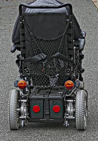 E-Rollstuhl für Senioren